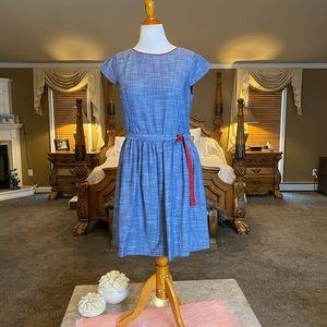 Brooks Brothers Chambray Dress Size 14